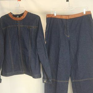 Vintage Forenza Men's 44 chest 34 W Jacket Pants
